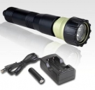 Комплект HYBRID 1 + аккумуляторы + зарядка + головка MONOSTAR P4H Green Force